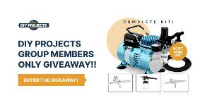WIN THE Professional Master Airbrush Cool Runner II Dual Fan Air Compressor Airbrushing System Kit!!