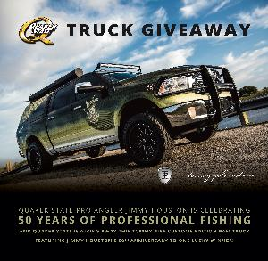 WIN THE QUAKER STATE TRUCK CUSTOMIZED BY TOMMY PIKE CUSTOMS
