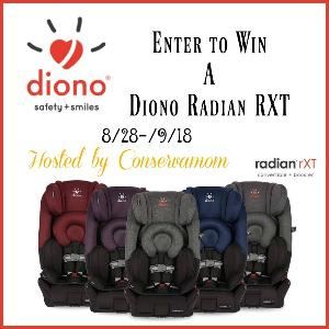 contest win the radian rxt diono car seat. Black Bedroom Furniture Sets. Home Design Ideas