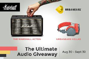 Win the Ultimate Audio Giveaway