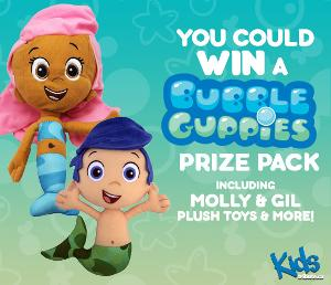 WIN: the ultimate Bubble Guppies Prize Pack!
