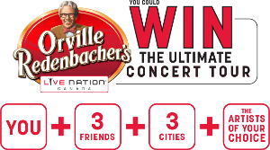 WIN The Ultimate Concert Tour for You + 3 Friends