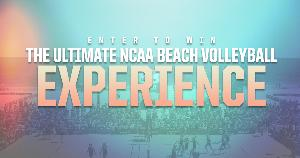Win the Ultimate NCAA Beach Volleyball Experience