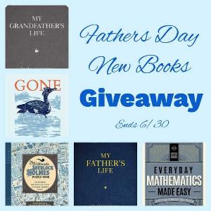 Win The Ultimate Sherlock Holmes Puzzle Book; Everyday Mathematics Made Easy; Gone; My Father's Life ; & My Grandfather's Life.