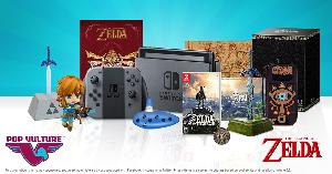 Win the Ultimate Zelda Nintendo Switch Prize pack