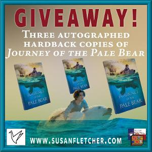 Win THREE AUTOGRAPHED COPIES OF JOURNEY OF THE PALE BEAR by Susan Fletcher!