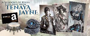win three signed paperbacks, a dragon eye box, a lace and beaded choker, and a $75 Amazon gift card!