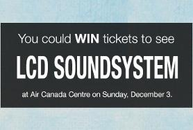 Win tickets to see LCD Soundsystem