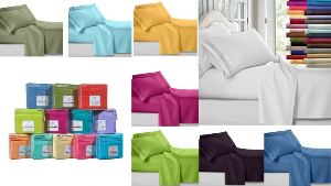 win two high quality 1800 Collection Clara Clark bed sheets
