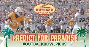 Win two tickets to the Outback Bowl - Weekly Winners of Outback Steakhouse Gift Cards