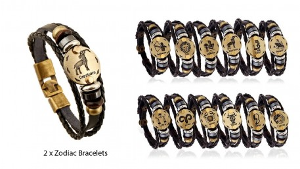 WIN TWO ZODIAC BRACELETS