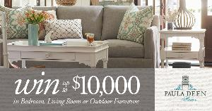 Win up to $10,000 in Bedroom, Living Room, or Outdoor Furniture from Paula Deen Home! - Three Winners