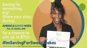 Win up to $850 in the #ImSavingForSweepstakes