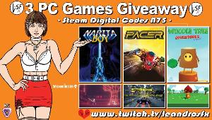 """Win """"Woodle Deluxe"""" (Steam);  """"Pacer"""" (Steam) &  """"Narita Boy"""" (Steam)!"""
