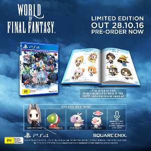 Win World of Final Fantasy Limited Edition