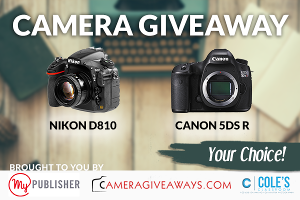 WIN YOUR CHOICE: Nikon D810 OR Canon 5DS R!