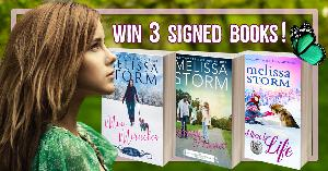 Win your choice of 3 signed books from Melissa Storm AND a $25 Amazon or Apple gift card!