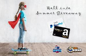 Win your Choice of $50 Amazon Gift Card or PayPal Deposit (Worldwide)