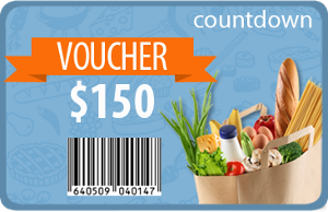 Win your favorite super market gift voucher