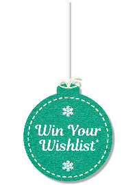 Win your wish list written on an ornament bulb