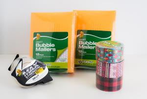 Winking Gnome Holiday Duck Tape and Mailing Package Giveaway