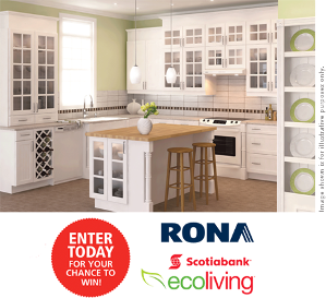 Contest win 40 000 for green remodeling your kitchen for Win a kitchen renovation