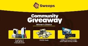 Winner's Choice between: $1,000 Cash, OR PlayStation 5,OR  Xbox Series S,OR  Nintendo Switch OR NVIDIA GeForce RTX 3080 OR ASUS 165Hz Gaming Monitor!!