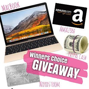 Winner's Choice Giveaway!