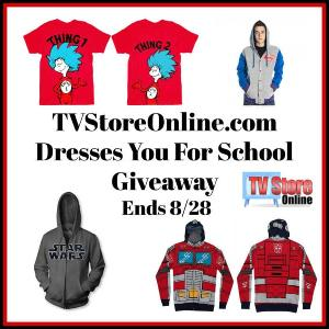 Winner's choice of any one Hoodie or T-shirt $50 or less up to $50.00 ARV