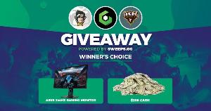 Winner's Choice: Win an  ASUS 144Hz Gaming Monitor or $200 Cash!!