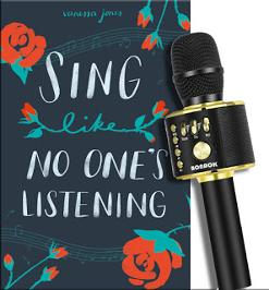 Winner will receive a finished copy of Sing Like No One's Listening and a Wireless Bluetooth Karaoke Microphone!