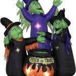 Witchy Lawn Inflatable