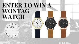 Wontag Watch Sweepstakes
