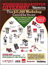 woodworking giveaway