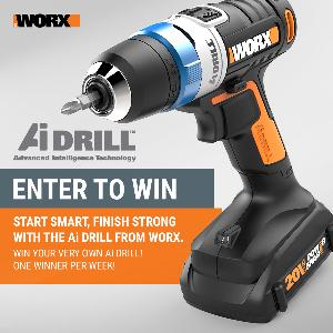 WORX Ai Drill Giveaway!