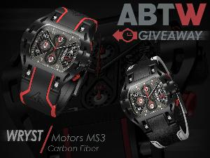 Wryst Motors MS3 Carbon Fiber Watch