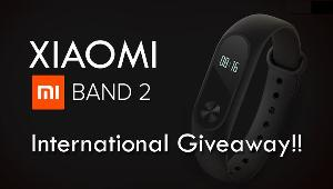 Xiaomi Mi Band 2 International Giveaway!