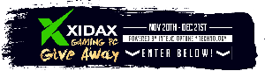 Xidax featuring Intel® Optane™ Memory Holiday Giveaway!