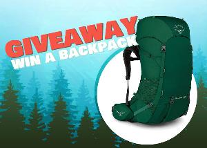 Contest: *** Win a 65L Osprey Backpack from