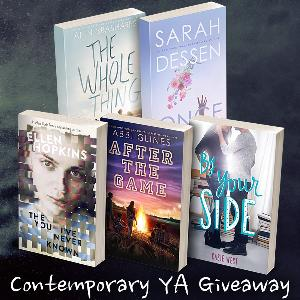 YA Contemporary giveaway