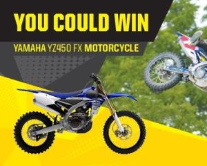 Yamaha YZ450FX Motocross Bike.""