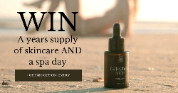 YEAR SUPPLY OF SKINCARE AND DAY SPA