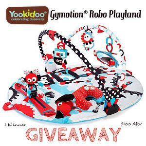 Yookidoo Gymotion Robo Playland Giveaway