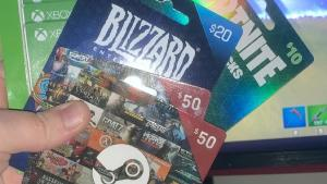 You can win a : $50 Steam Gift Card #1-1 winner; $50 Steam Gift Card #2-1 winner; $20 Blizzard Gift Card #1-1 winner or $20 Blizzard Gift Card #2-1 winner.