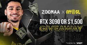 You can win a RTX 3090 or $1,500, it's your choice!