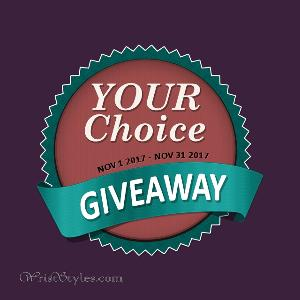 YOUR Choice GIVEAWAY by WristStyles.com
