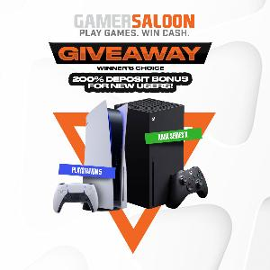 Your choice!Win a PS5 or Xbox Series X (when released)!!