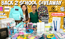 Yumi's Back to School Supplies Giveaway Haul
