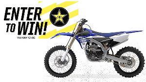 YZ450 motorcycle