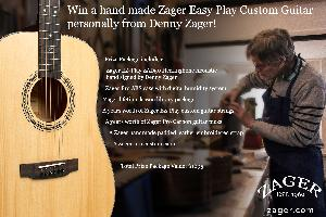 Zager Guitar and Accessories Giveaway